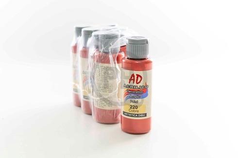 Acrílico decorativo Artística Dibu AD 60 ml 220-cobre