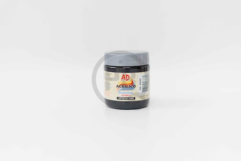 Acrílico decorativo 200 ml 200-negro