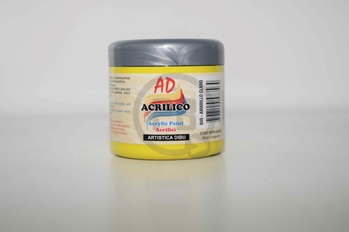 Acrílico decorativo 200 ml 040-amarillo claro