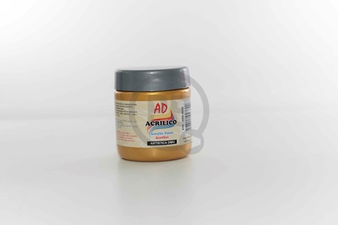 Acrílico decorativo 200 ml 210-oro rico
