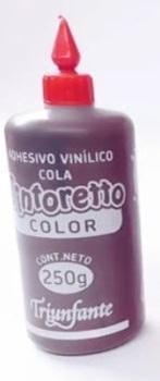 Adhesivo color tintoretto marron 250 gramos