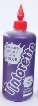 Adhesivo color tintoretto violeta 250 gramos