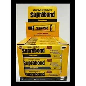 Adhesivo Suprabond x 50 ml en caja transparente extra fuerte