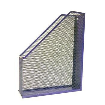 Revistero talbot metálico calado violeta