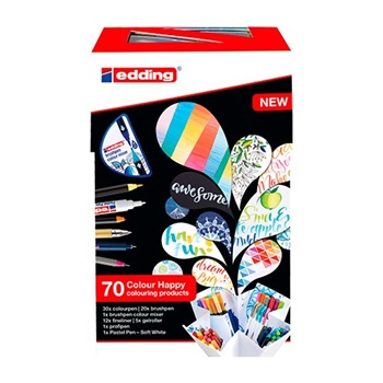 Set Edding color happy 70 pcs lettering