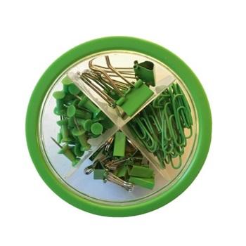 Kit de oficina - porta celulares verde Hefter pop