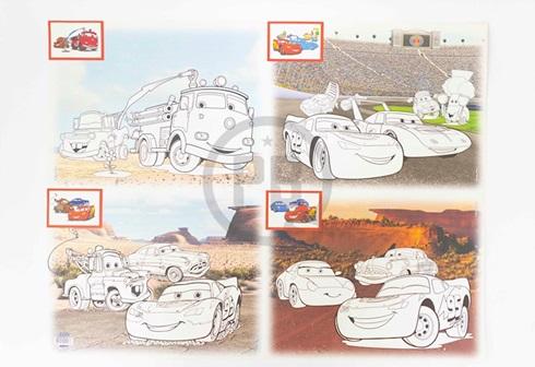 Cartulina Entretenida Muresco doble faz 50 x 65 Cars