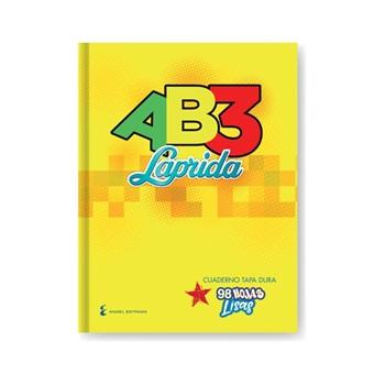 Cuaderno 19 x 23,5 Laprida ab3 s/forrar 98 hojas liso cosido tapa dura
