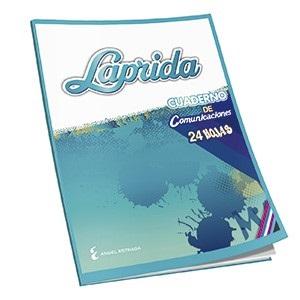 Cuaderno Laprida tapa flexible 24 hs comunicaciones