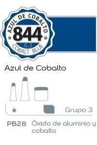 Acrílico Alba 6 x 18 ml 844-azul cobalto