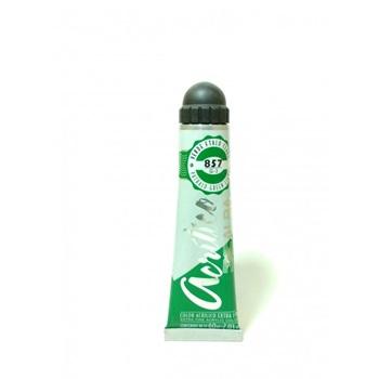 Acrílico Alba 6 x 18 ml 857-verde ftalo claro