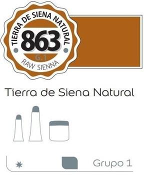 Acrílico Alba 6 x 18 ml 863-tierra de siena natural