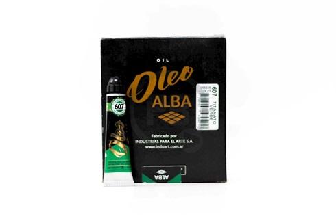 Acrílico alba 6 x 18 ml 807-titanato verde