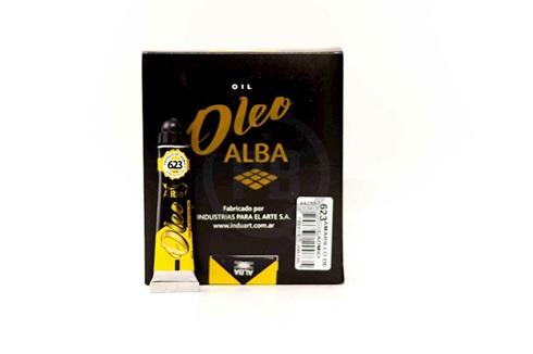 Oleo Alba 3 x 60 ml amarillo cadmio