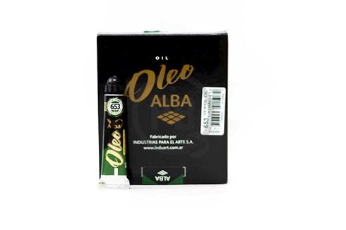 Oleo Alba 3 x 60 ml verde cadmio