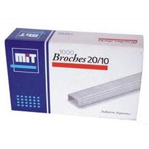 Broches Mit 20/10 x 1000 unidades