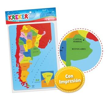 Didac Kreker 320 mapa Argentina encastrable 26 pcs 23 x 34