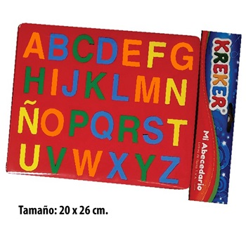 Didac Kreker 343 abecedario encastrable 27 pcs 20 x 26
