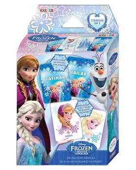 Juego 2 en 1 digalo c/mimica + ni si, ni no, etc Frozen 2