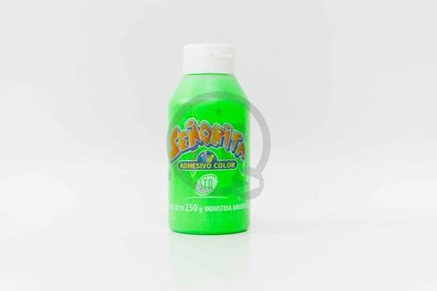 Adhesivo color STA verde x 250 gramos