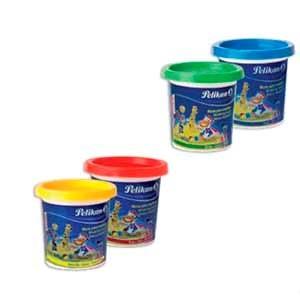 Masa para modelar Pelikan pote azul x 120 gramos