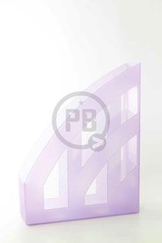 Revistero Herlitz lila pastel translucido