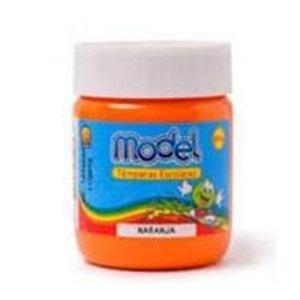 Tempera Model pote 250 gramos naranja