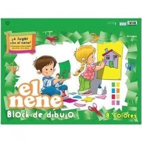 Block El Nene Nº 5 color 24 hs