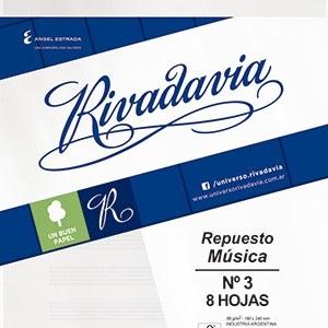 Repuesto Rivadavia 8 hs musica
