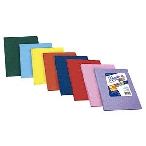 Cuaderno 19 x 23,5 Rivadavia abc araña azul 98 hojas rayado cosido tapa dura