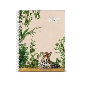 Cuaderno Ledesma 29,7 nat tapa flexible 70 hojas rayado espiral