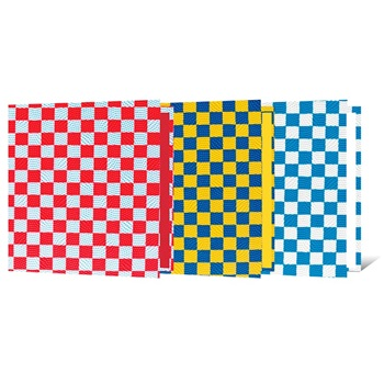 Carpeta 3-a/red,40 mm cartoné Rexon pvc con relieve corazones-camuflada-frutillas