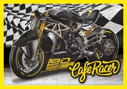 Puzzle Inkdrop 54 piezas 50 x 35cms motorcycles
