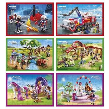Puzzle Inkdrop 48 piezas 22 x 29 playmobil princesas