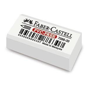 Goma Faber-Castell 7086 caja x 30 lápiz