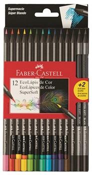 Pinturitas Faber-Castell super soft blister x12