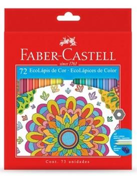 Lapices de colores Faber-Castell ecolapiz x 72 largos