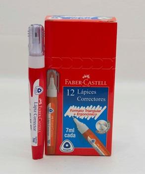 Corrector pen Faber-Castell triangular 7 ml