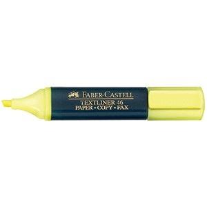 Resaltador Faber-Castell t48 amarillo
