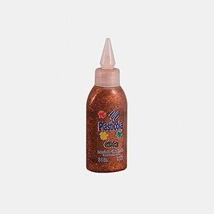 Plasticola brillo 38 gramos naranja