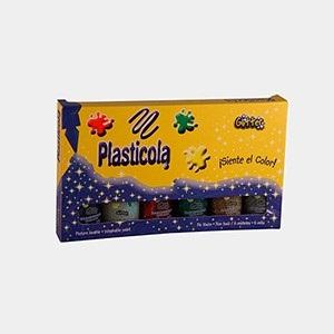 Plasticola color x 40 gramos surtido