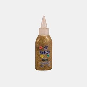 Plasticola brillo 38 gramos dorado