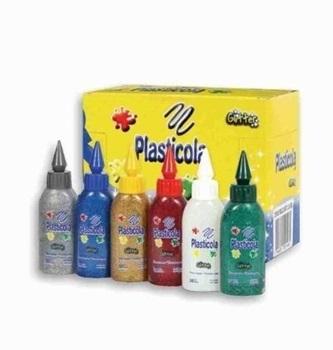 Plasticola brillo 38 gramos surtido color c/u