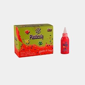 Plasticola color x 40 gramos rojo