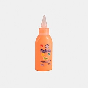 Plasticola fluo 40 gramos naranja
