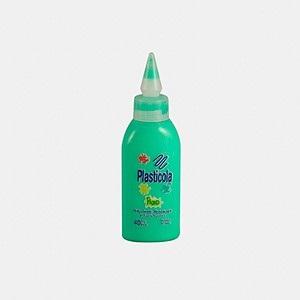 Plasticola fluo 40 gramos verde