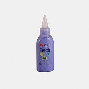 Plasticola fluo 40 gramos azul