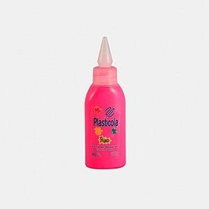 Plasticola fluo 40 gramos magenta