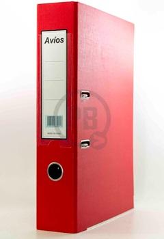 Bibliorato A4 carpeta forrado rojo Avios