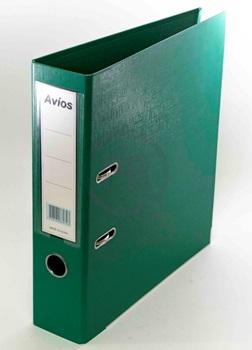 Bibliorato A4 carpeta forrado verde oscuro Avios